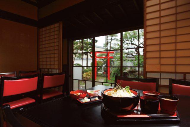 Eat U-men at a Samurai residence! Kichimi noodles