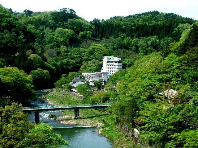 800年以上もの間、人々を癒やし続けてきた「小原温泉」。渓谷美と温泉の効能が同時に堪能できる旅館と施設をまとめてご紹介!