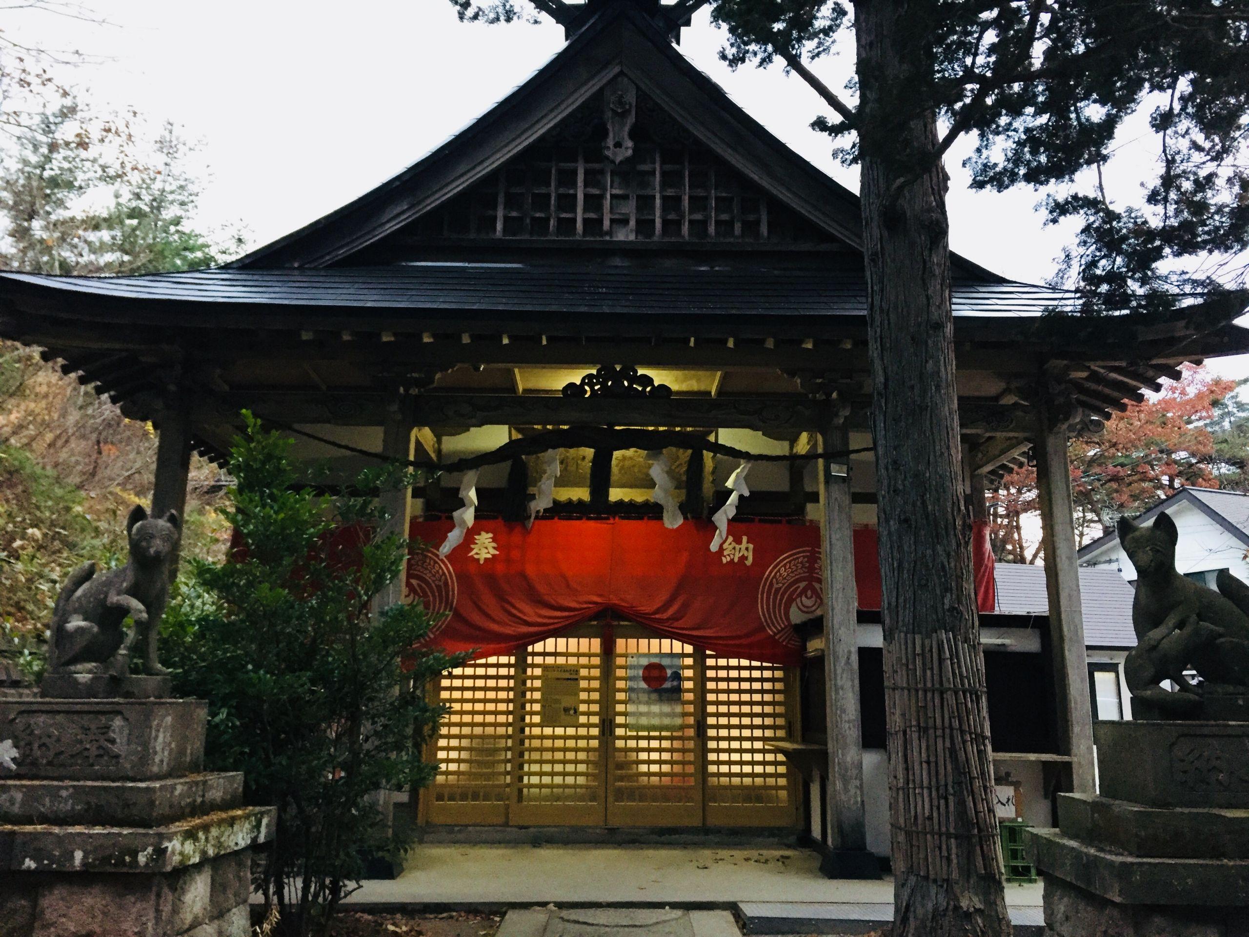 【女子必見!】白石市の2大縁結びスポットめぐり~神石白石&萬蔵稲荷神社~
