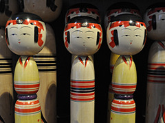 Yajiro Kokeshi Doll Village